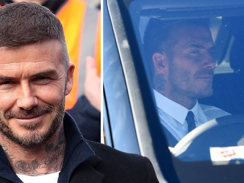 David Beckham to face full court hearing for using phone in his Bentley
