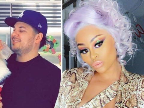 Blac Chyna wishes Rob Kardashian happy birthday after praising him as a 'wonderful father'