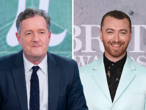 Piers Morgan 'identifies as Sam Smith' as he mocks singer for 'non-binary' reveal