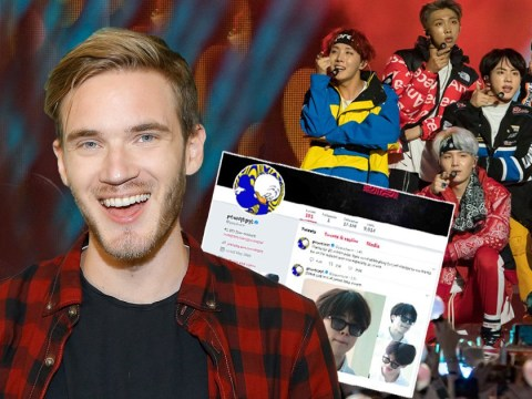 PewDiePie proves he's an ARMY by unfollowing everyone on Twitter except BTS