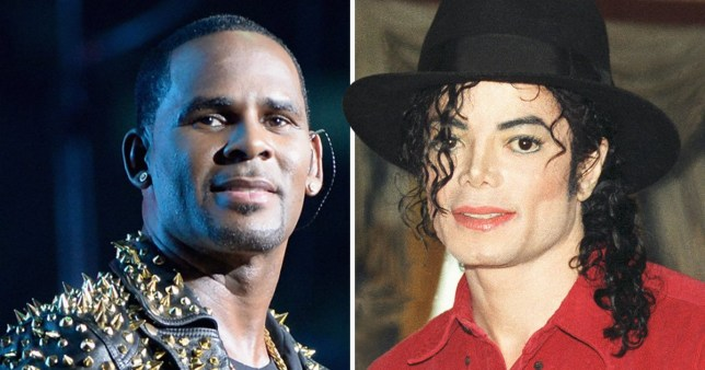 Joking about Michael Jackson and R Kelly abuse allegations