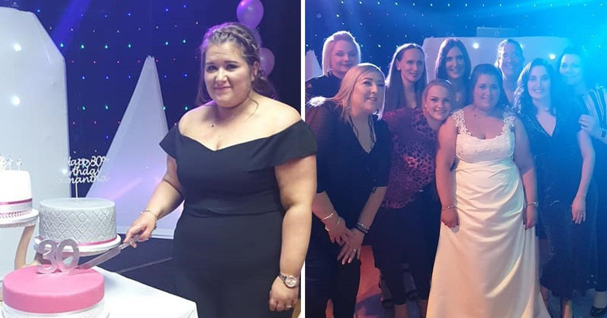 Woman surprised guests at her 30th birthday party by turning it into a wedding