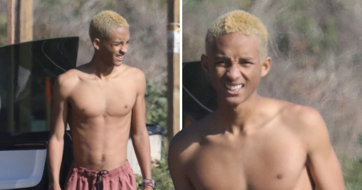 Jaden Smith forgets top and shoes as he heads out in Malibu and we have so many questions