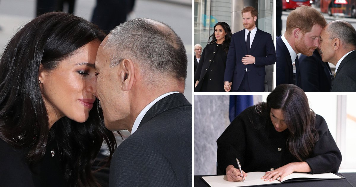 Meghan and Harry tell New Zealand 'we're with you' in tribute for terror victims