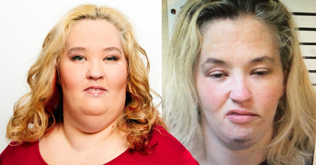 Mama June gurns in police mugshot after Alabama arrest