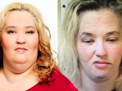 Mama June gurns in police mugshot after reality star was arrested in Alabama