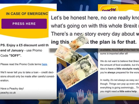 Loan ad banned for using people's Brexit concerns to encourage food stockpiling