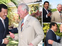 Lionel Richie is on cloud nine as he teams up with Prince Charles' international charity