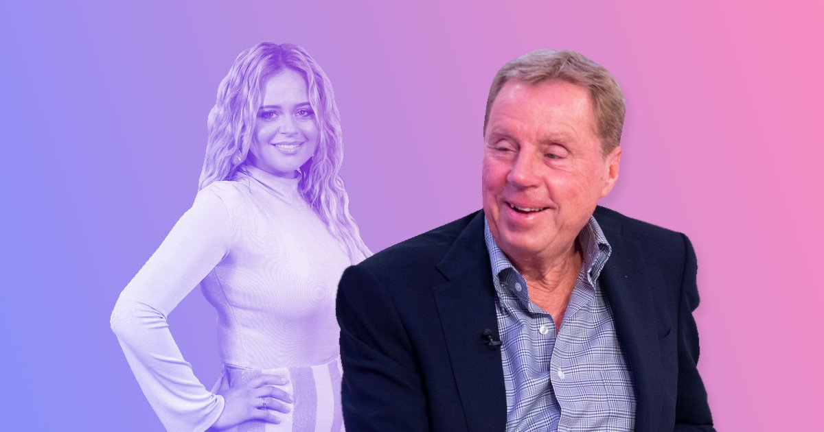 Harry Redknapp backs Anne Hegerty's sassy clapback as he sticks up for Emily Atack amid trolling