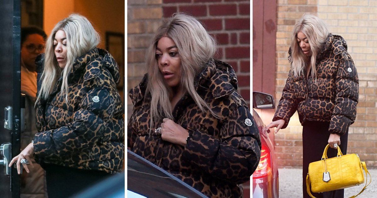 Wendy Williams pictured at sober house after opening up about addiction struggles