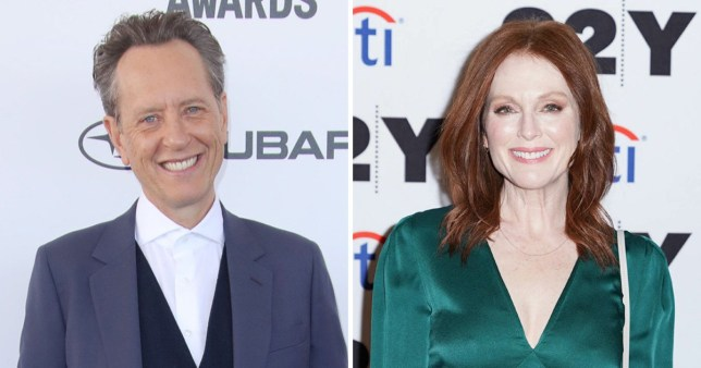 Richard E Grant reveals why Julianne Moore was fired