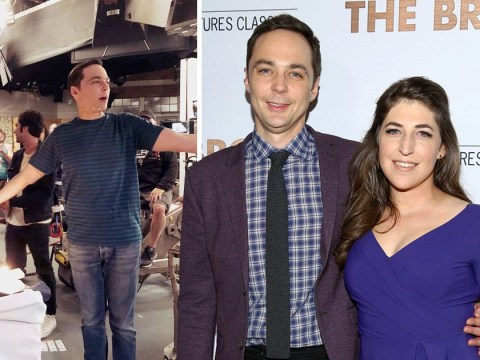 Big Bang Theory's Mayim Bialik sends emotional early birthday tribute to Jim Parsons in final days on set