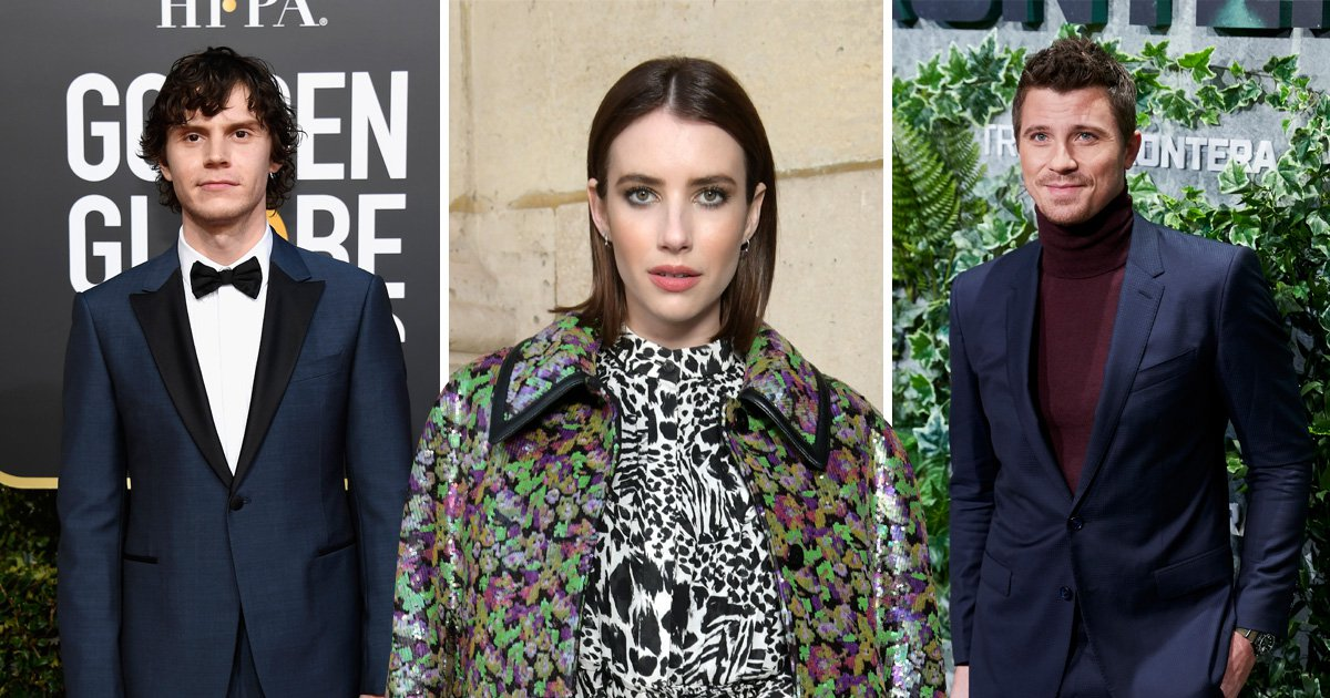Emma Roberts and Evan Peters split