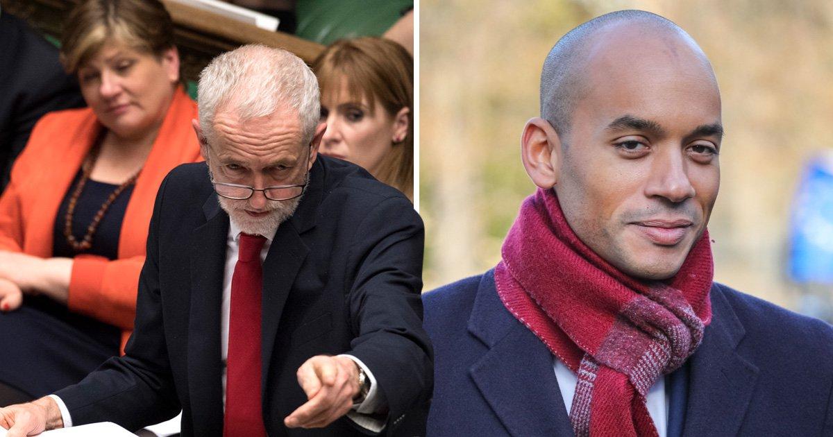 Jeremy Corbyn refused Brexit talks to save 'breathing same air as Chuka Umunna'