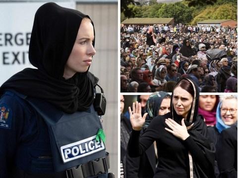 Non-Muslim women wear headscarves in solidarity to mark week since New Zealand terror attack