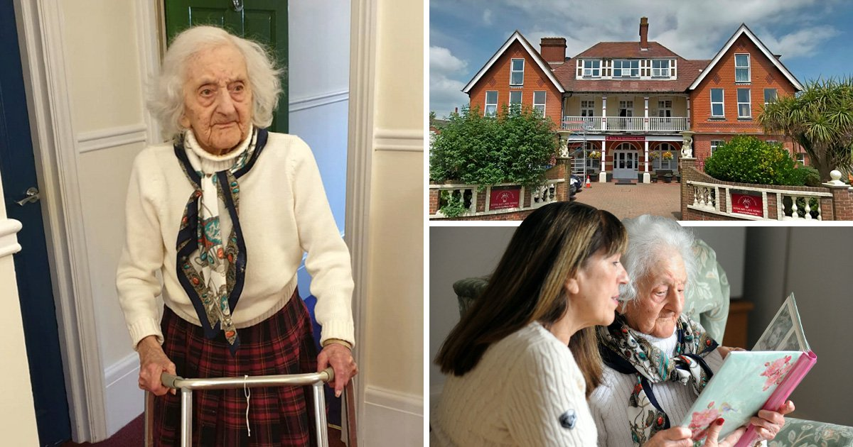 Pensioner, 102, made homeless with just hours' notice