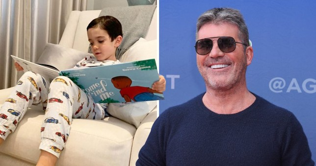 Simon Cowell breaks social media silence for adorable AF Eric Cowell pic