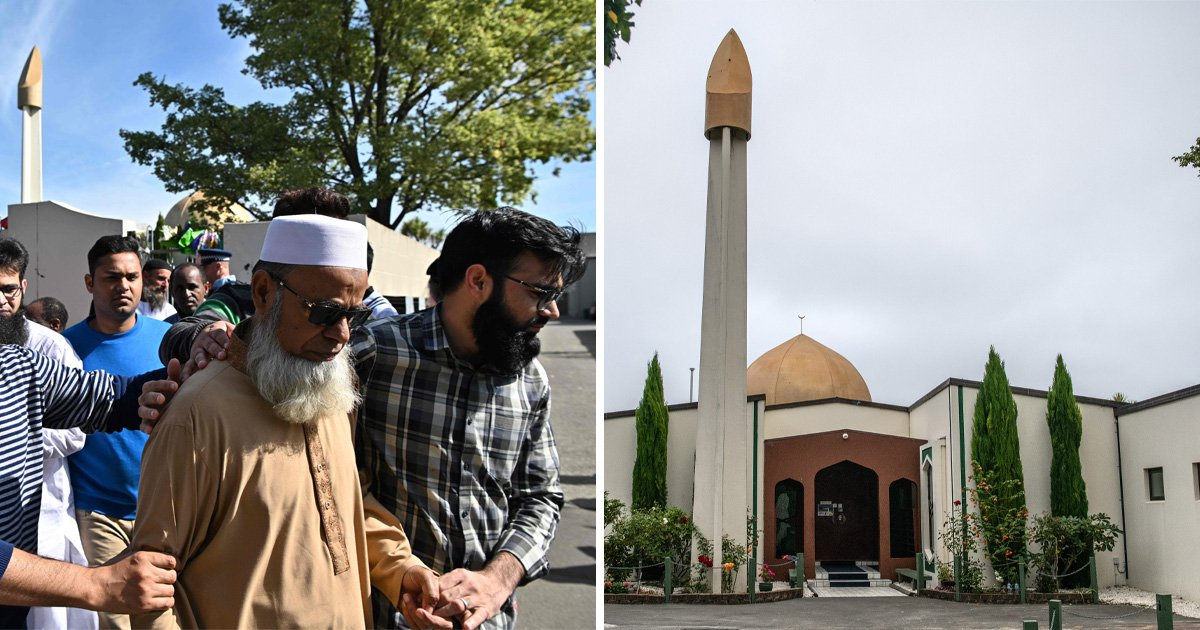 Christchurch mosque reopens after terror attack as New Zealand 'marches for love'