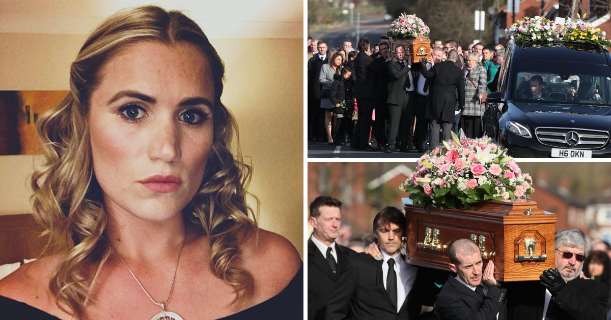 Bride-to-be who went missing on hen night buried in wedding dress