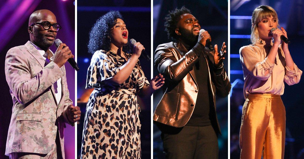 Olly Murs, Jennifer Hudson, will.i.am and Tom Jones pick The Voice UK semi-finalists