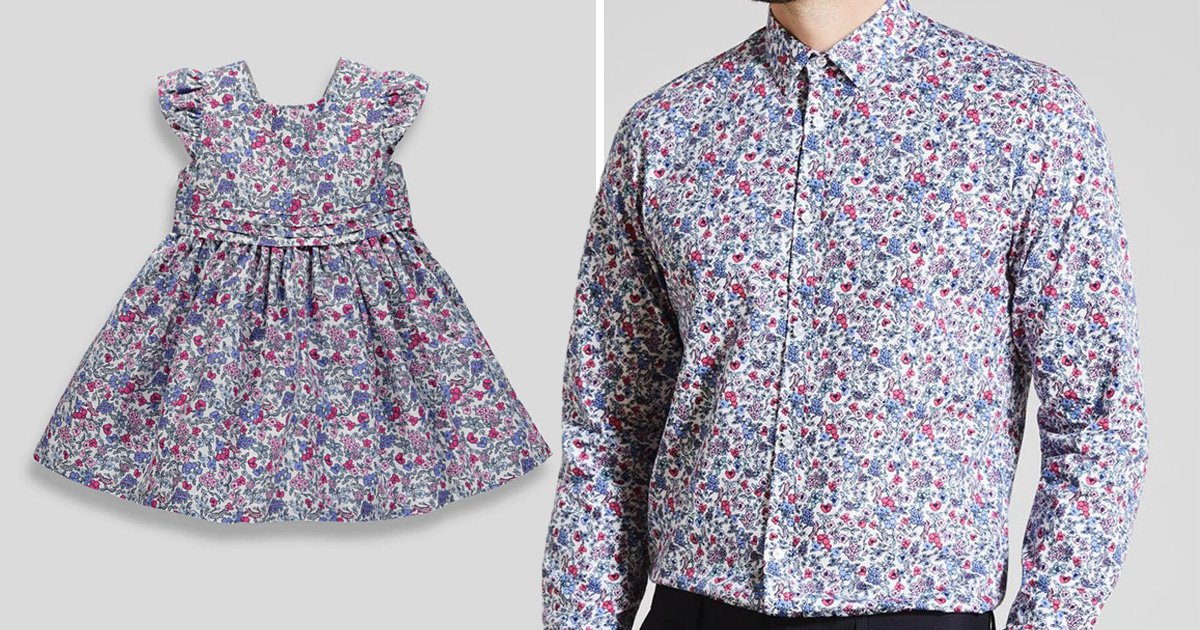 Matalan launches adorable matching dad and daughter outfits