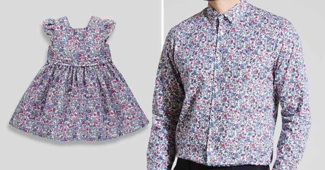 get new hot-selling cost charm Matalan launches adorable matching dad and daughter outfits ...