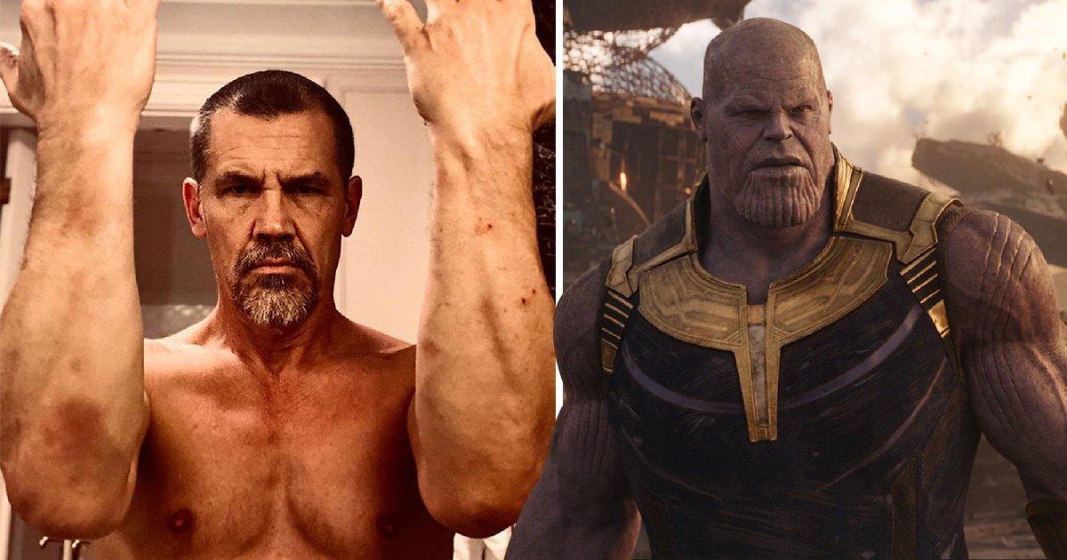 Avengers star Josh Brolin appears bruised as he begins training for Dune