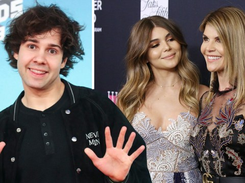David Dobrik speaks out on Olivia Jade's 'mistakes' after Lori Loughlin college admissions scandal