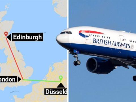 BA passengers heading to Germany end up in Edinburgh after mix-up