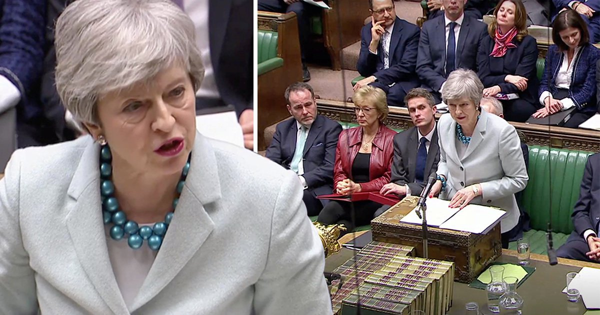 Theresa May opens door for second referendum as she ditches 3rd vote