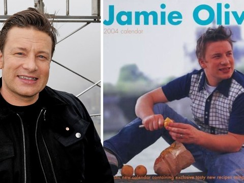 Jamie Oliver shares hilarious throwback to awkward calendar photo shoot