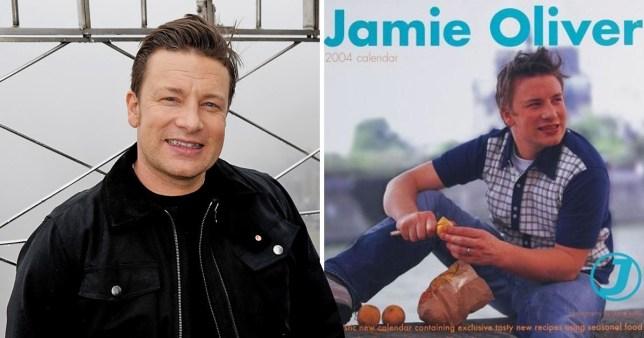 Jamie Oliver awkward calendar