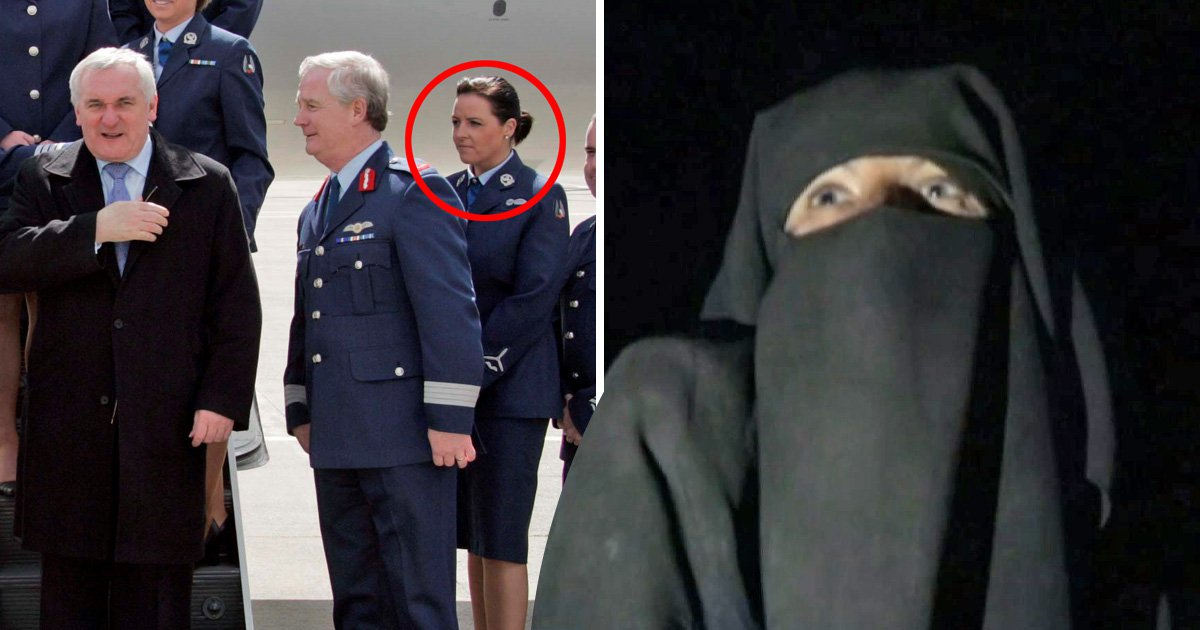 Soldier turned Isis bride begs to be allowed home with young daughter
