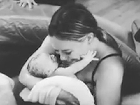 Hilary Duff shares adorable video of first time she cuddled her baby daughter Banks