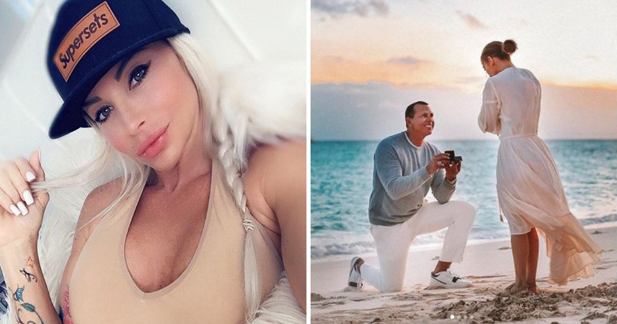 Playboy model accuses Alex Rodriguez of cheating as she claims Jennifer Lopez 'doesn't deserve this'