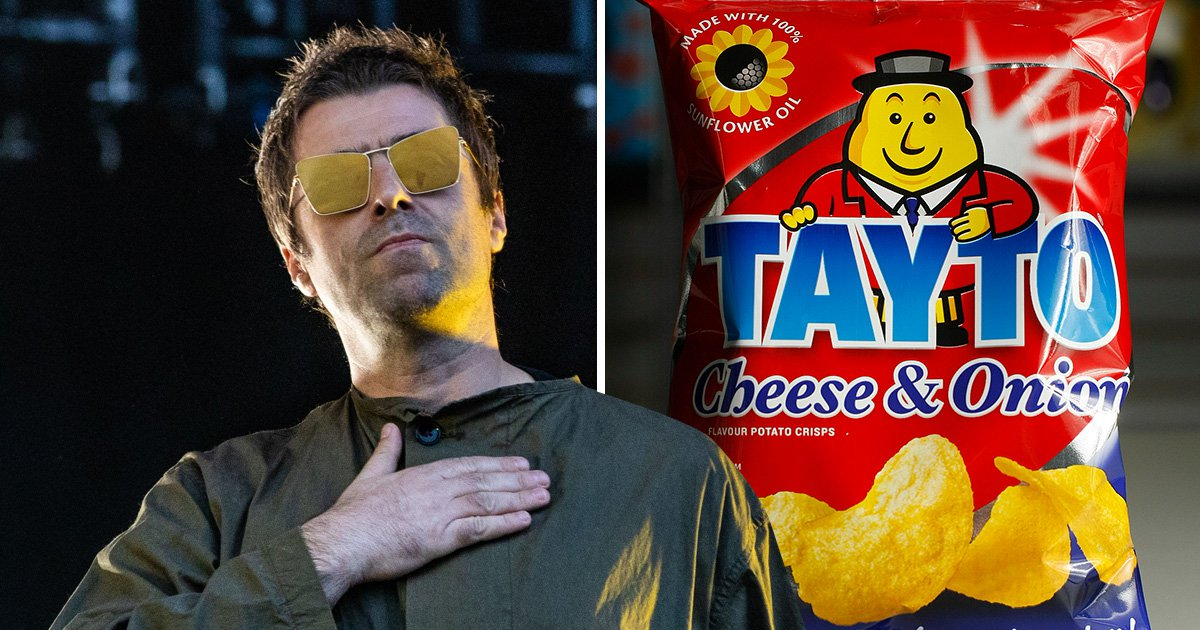 Liam Gallagher believes Taytos should be voted as Britain's favourite crisps