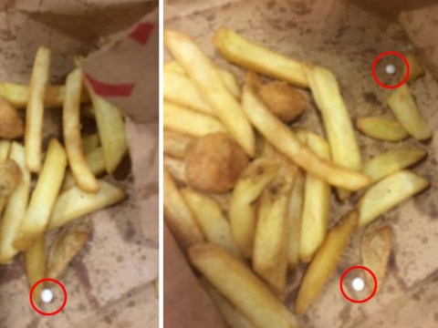 Dad found white tablets in toddler's meal from KFC