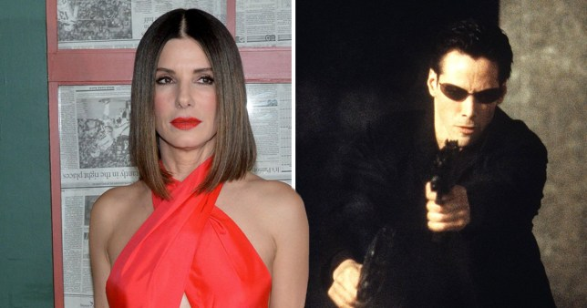 Sandra Bullock was nearly cast as Neo in The Matrix and say what
