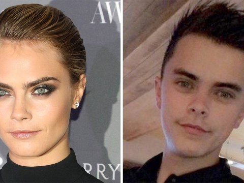 Man looks so much like Cara Delevingne that his girlfriend's sister mistook him for the model