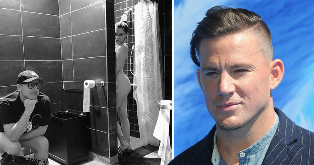 Channing Tatum speechless over Jessie J's naked shower picture