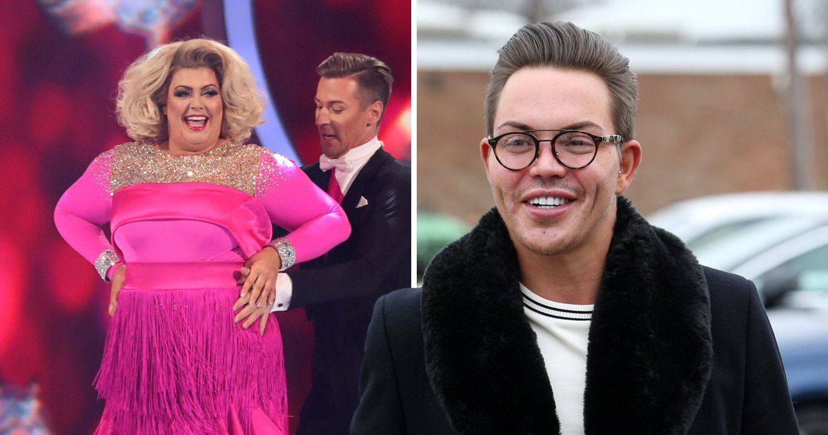 Bobby Norris says Gemma Collins' confidence was knocked by Dancing On Ice drama