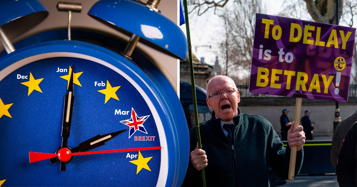 Why hasn't the UK left the EU today despite March 29 being Brexit leave day?