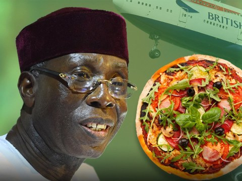 Nigerians are 'ordering pizza from London and using British Airways to deliver it'