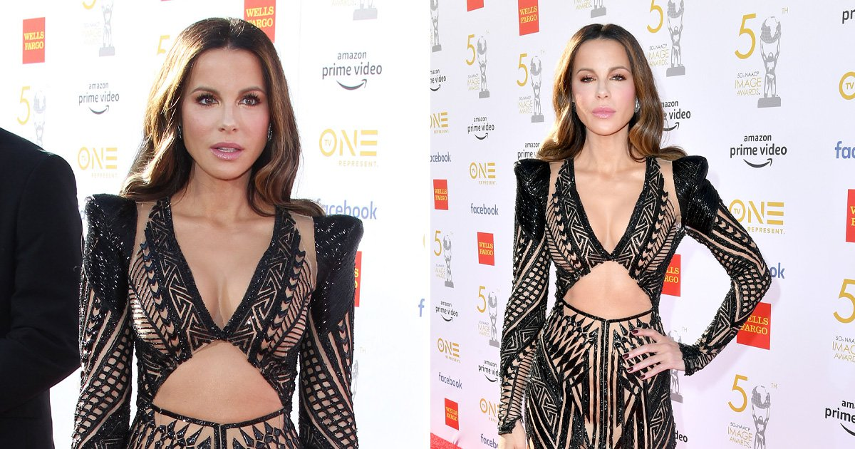Kate Beckinsale enjoys a night out without boyfriend Pete Davidson at the NAACP Image Awards