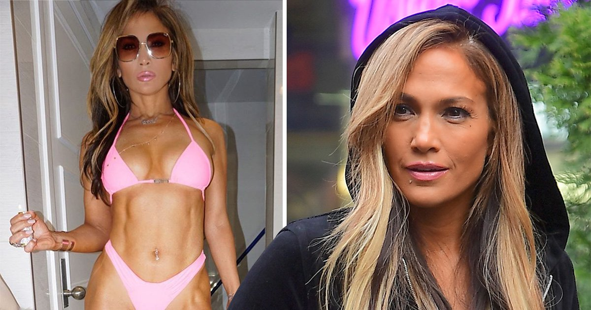 Jennifer Lopez shows off some serious abs in teaser for new stripper movie Hustlers