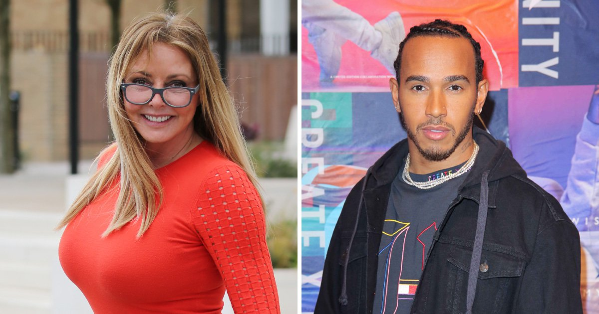 Carol Vorderman shares heartwarming story of Lewis Hamilton as Countdown star praises F1 champ