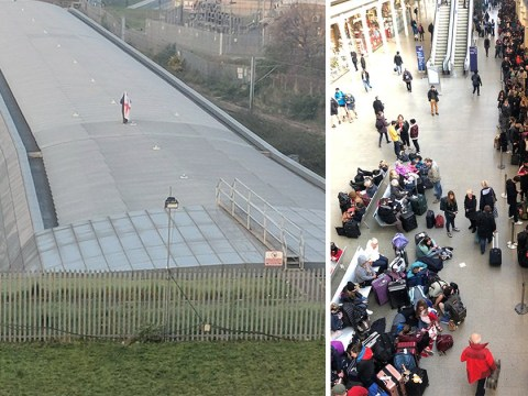 'Brexit protester' who caused Eurostar chaos by obstructing railway is charged