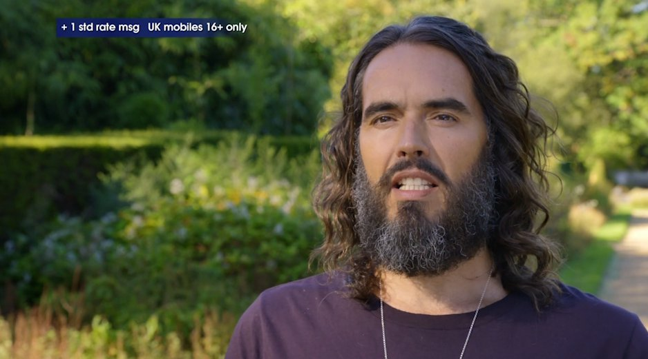 Russell Brand vows to go naked as vagina biscuit helps him take Celebrity Bake Off win