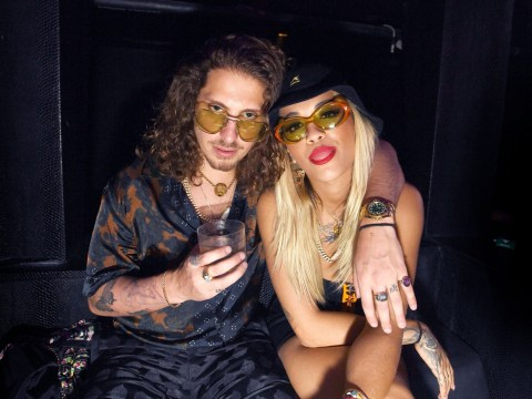 Rita Ora is back with her producer ex after whirlwind romance with Andrew Garfield