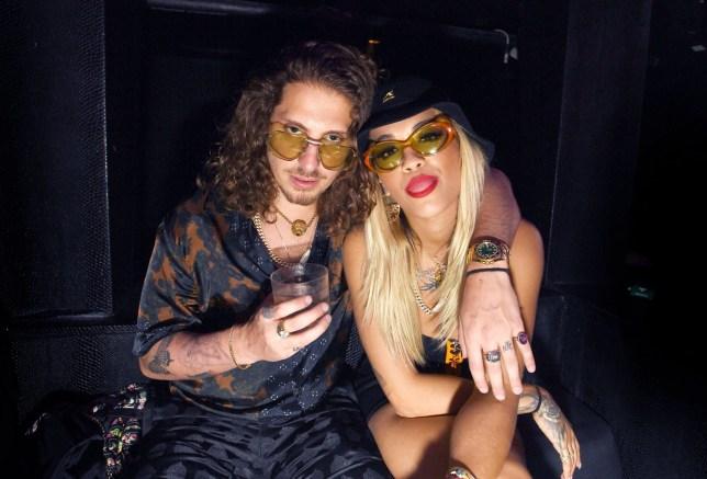Mandatory Credit: Photo by Startraks/REX/Shutterstock (9439016a) Rita Ora and Andrew Watt Rita Ora at Liv Nightclub, Miami, USA - 24 Feb 2018 Rita Ora, Maluma and Andrew Watt Backstage at Liv at The Fontainebleau